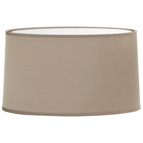 Astro 5034003 Tapered Oval Shade Oyster Fabric